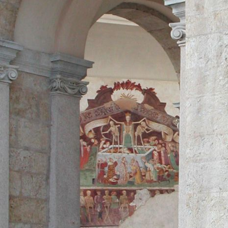 Travel picture of The dance of death fresco