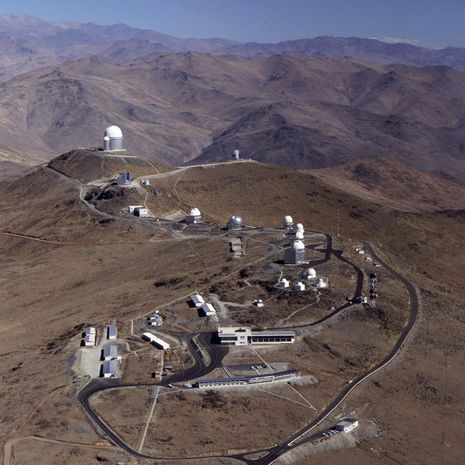 Travel picture of La Silla Observatory