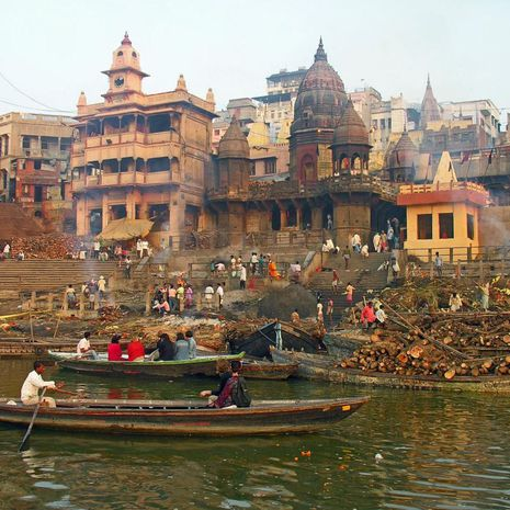 Travel picture of Manikarnika Ghat