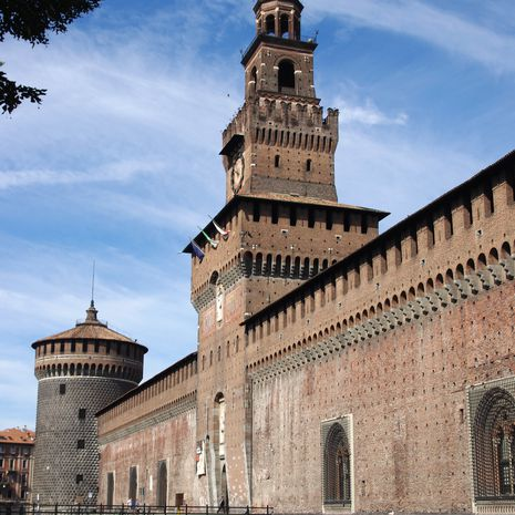 Travel picture of Sforzesco Castle