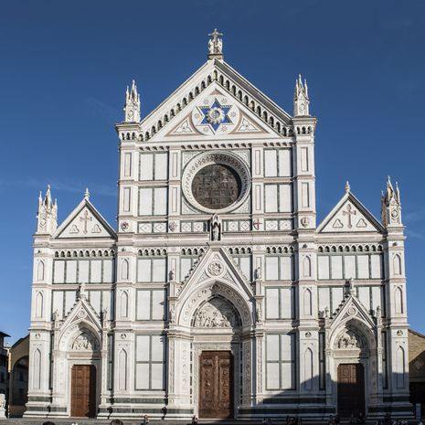 Travel picture of Basilica of Santa Croce in Florence