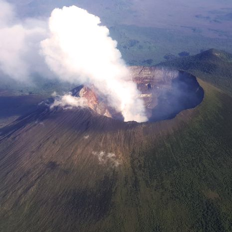 Travel picture of Mount Nyiragongo